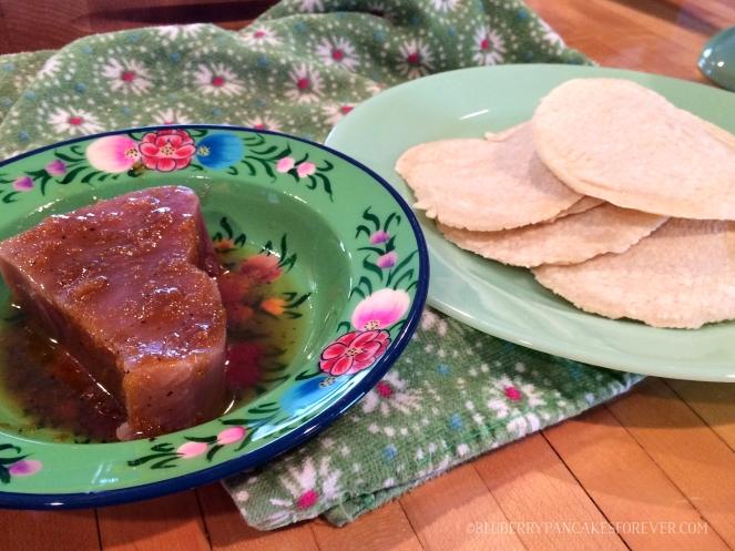 Tuna Tacos & Tortillas