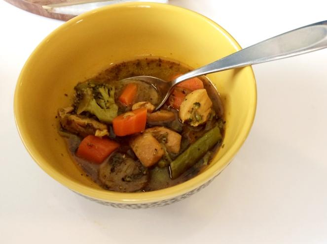 Organic Spring Veggi Soup